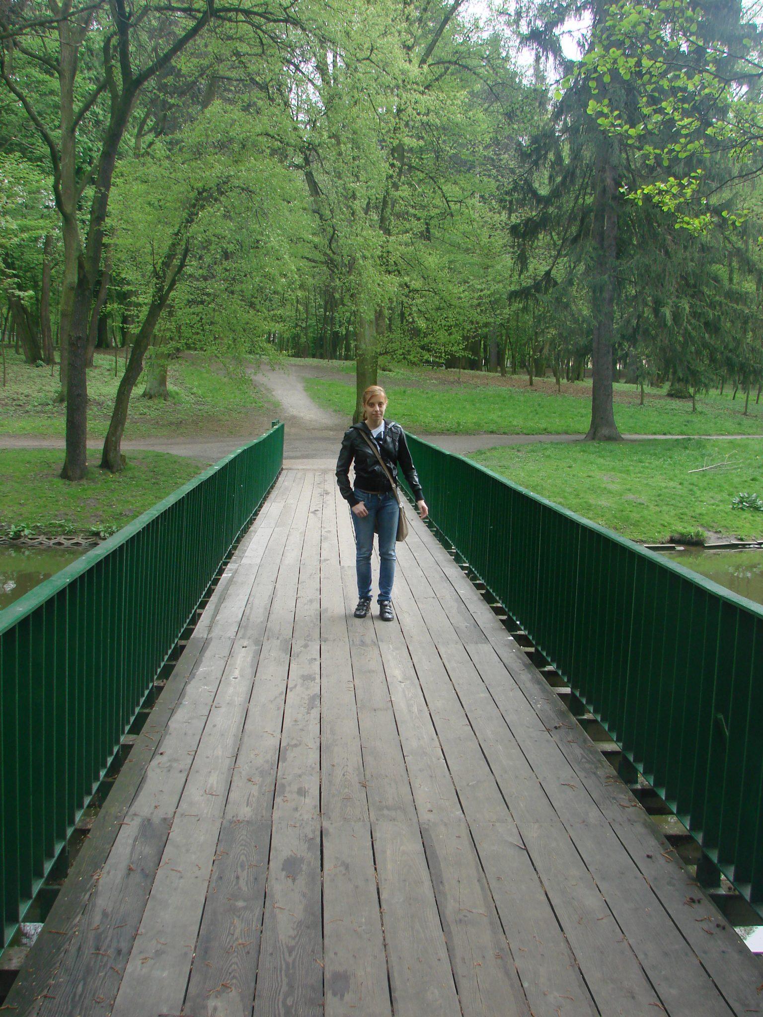 Park im Adama Mickiewicza w Łodzi zwany Parkiem Julianowskim