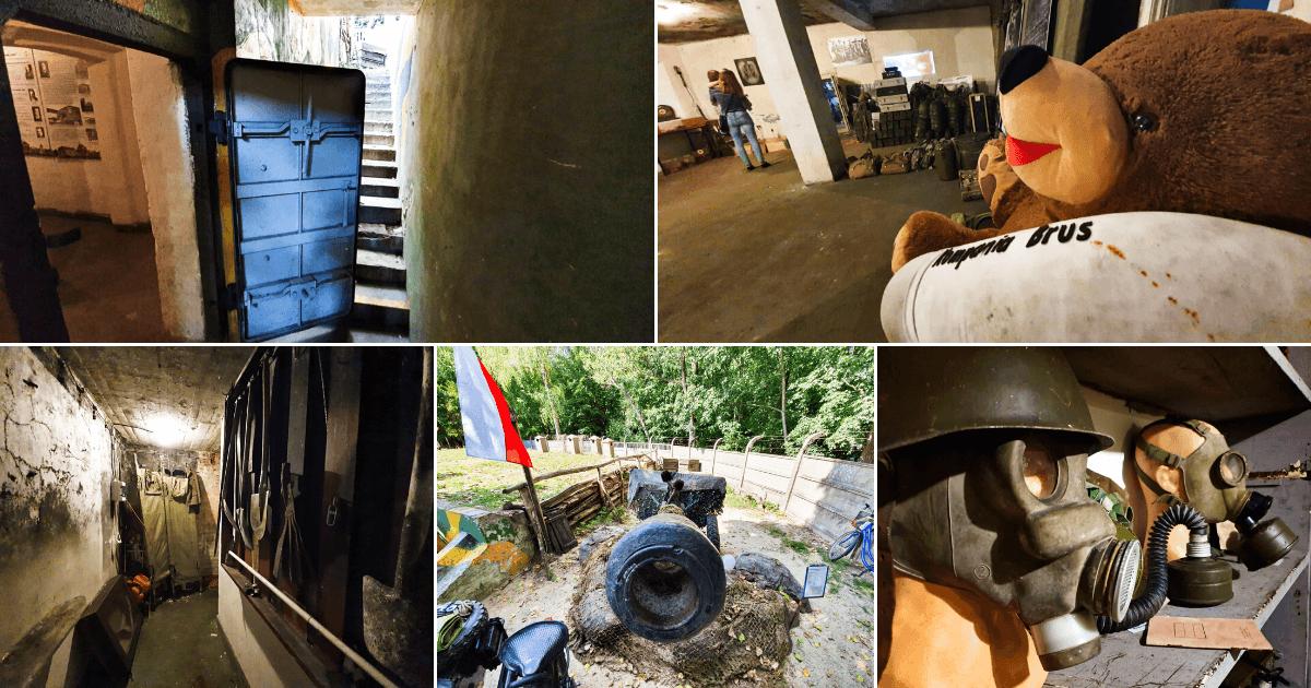 schron na brusie – zabytkowy schron na brusie w Łodzi (1)